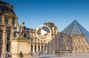 História do Louvre por Tom Pavesi