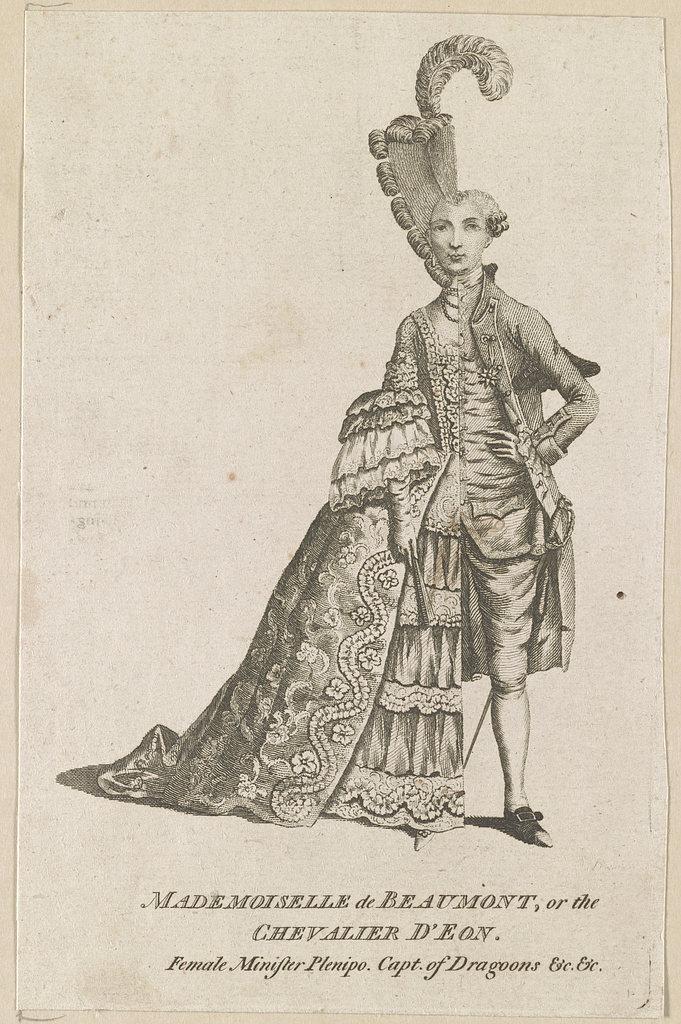O travesti espião no reinado de Luís XV