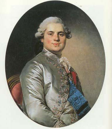 Luís XVIII (1778), por Joseph Duplessis.