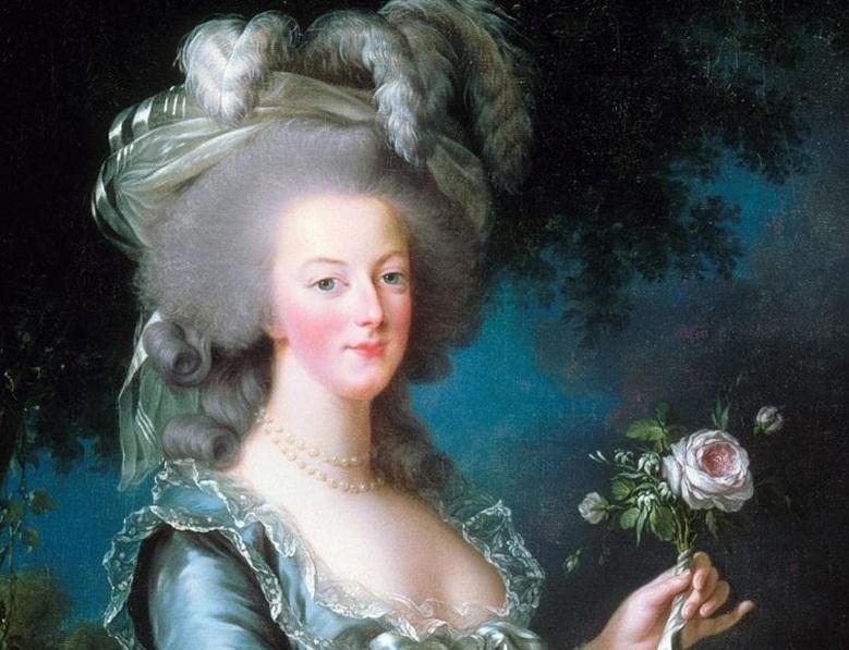 Maria Antonieta, em 1783,par Elisabeth Vigée Le Brun.