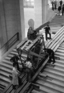 Museu do Louvre durante a Segunda Guerra Mundial