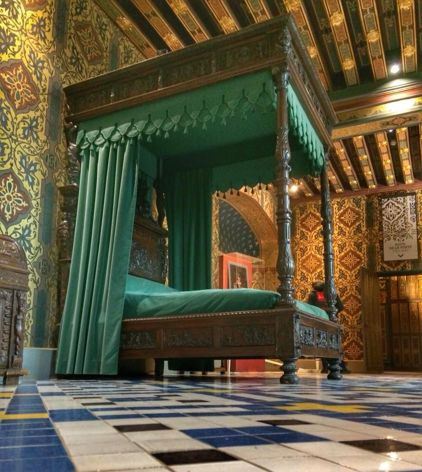 Castelo de Blois - Quarto da rainha