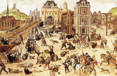 O massacre da noite de São Bartolomeu