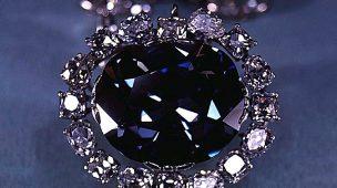 A maldição do diamante azul da coroa ou diamante Hope