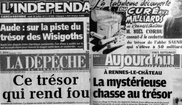 O misterioso tesouro de Rennes-le-Château