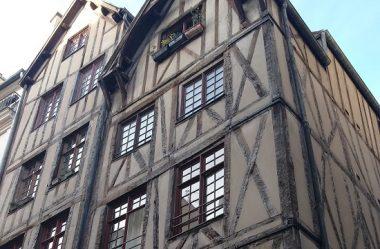 Fachadas de Paris do século XIV ao estilo Luís XVI – 1° Parte